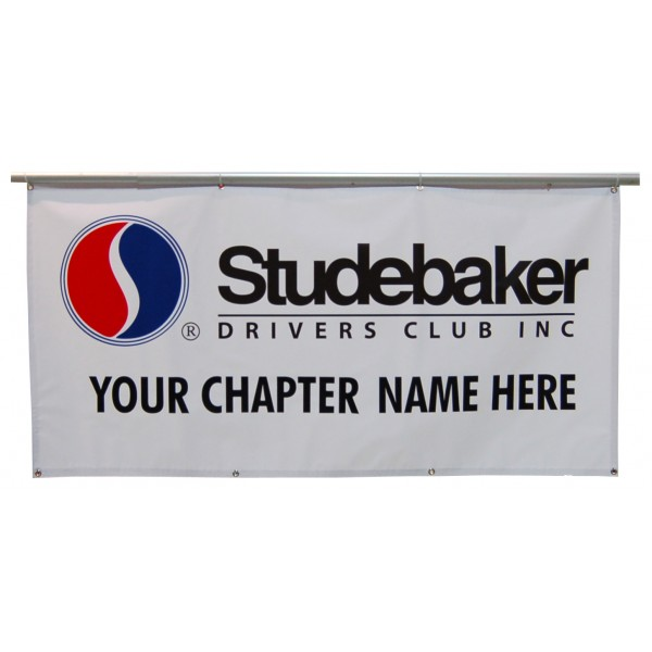 3 X 6 SDC Chapter Banner