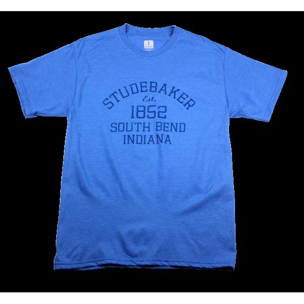 1852 Studebaker T-Shirt Blue