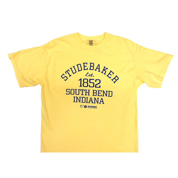 1852 Studebaker T-Shirt Yellow