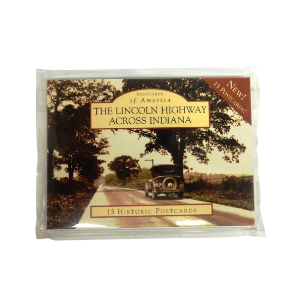 Lincoln Highway Across Indiana Postcard Set