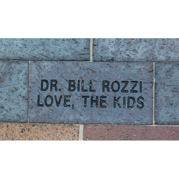 "4"" x 8"" Commemorative Brick - 2 line"