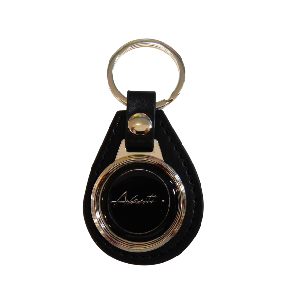 Avanti Leather Keychain