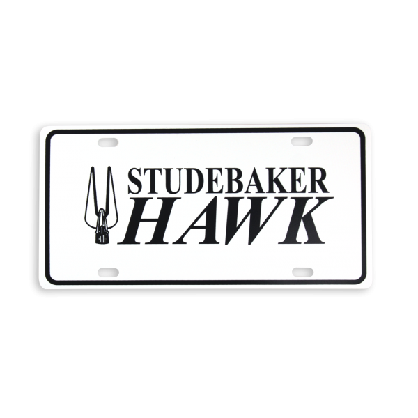 Studebaker Hawk License Plate