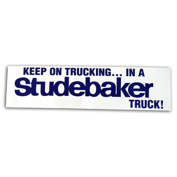 """Keep on Trucking"" Bumpersticker"