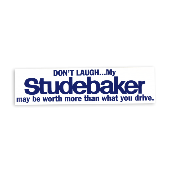 """Don't Laugh"" Bumpersticker"