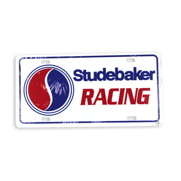 Studebaker Racing License Plate