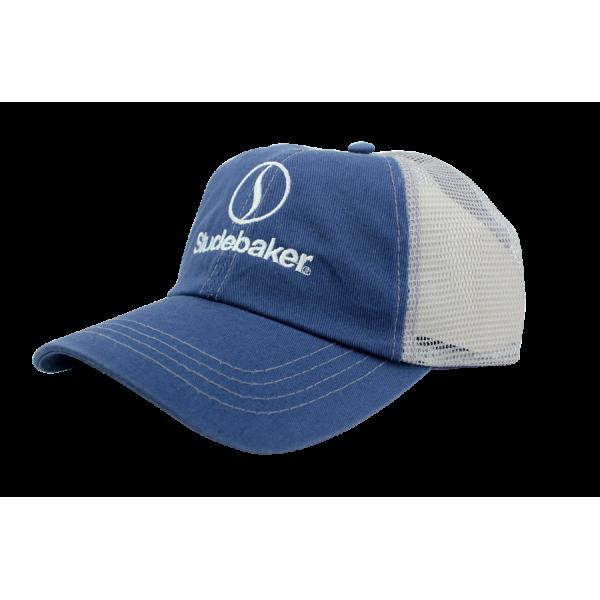 Light Blue Lazy S Hat