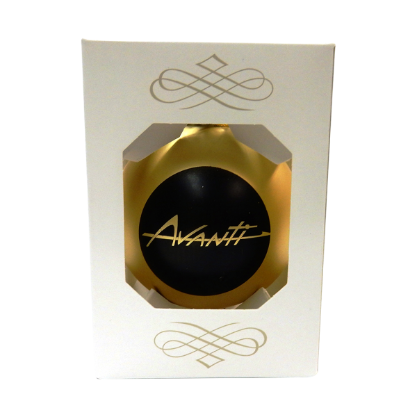 Gold Avanti Ornament