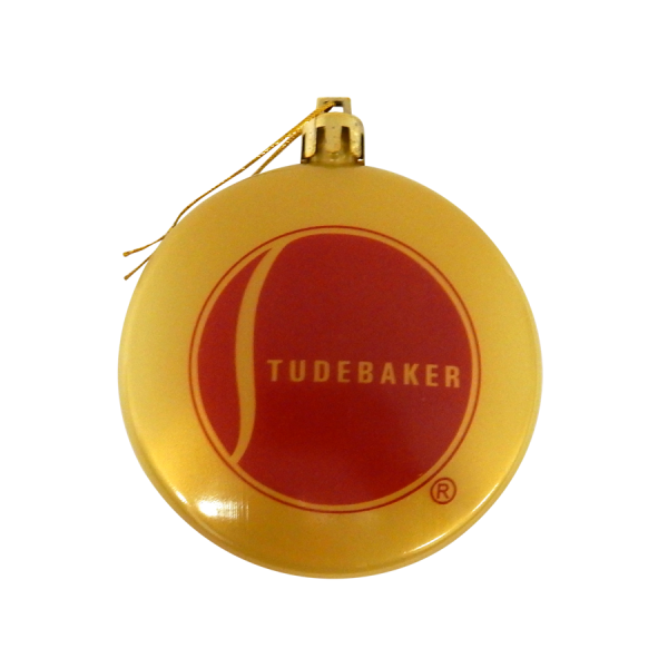 Gold-Red Ball Ornament