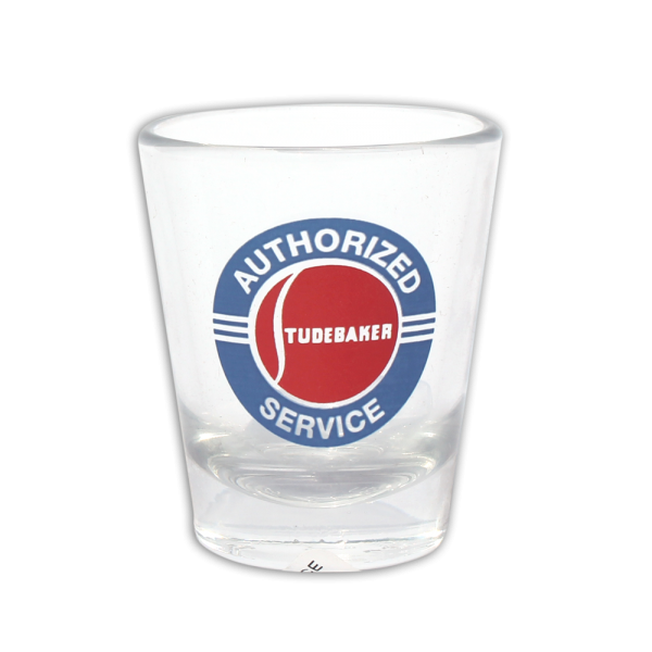 Authorized Service Shot Glass