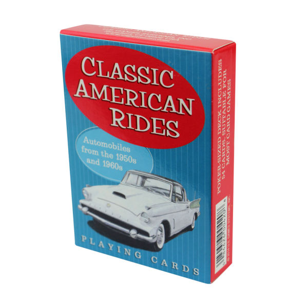 Classic American Rides Playing Cards