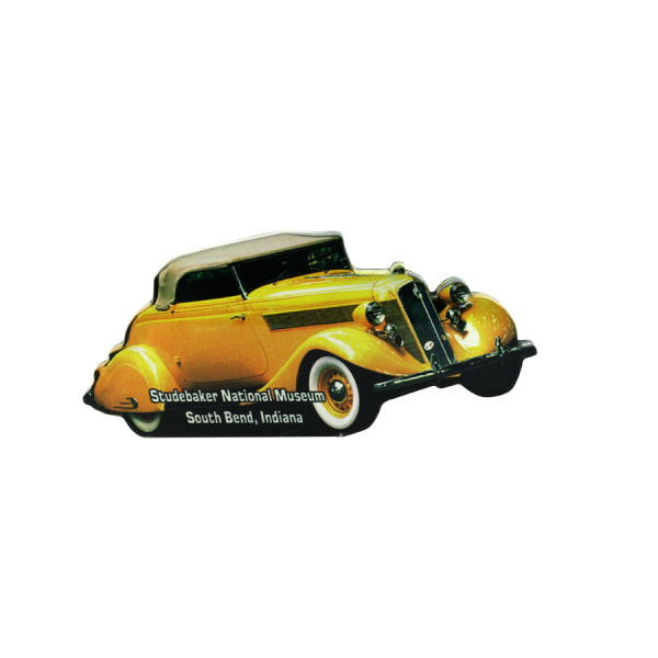 1935 Yellow Roadster Magnet