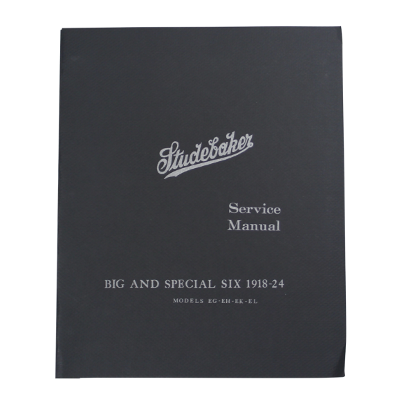 1918-24 Big & Special Six Shop Manual