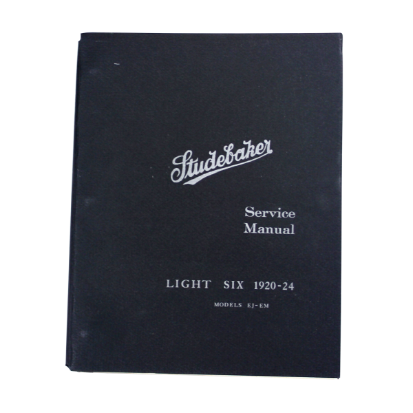 1920-24 Light Six Shop Manual