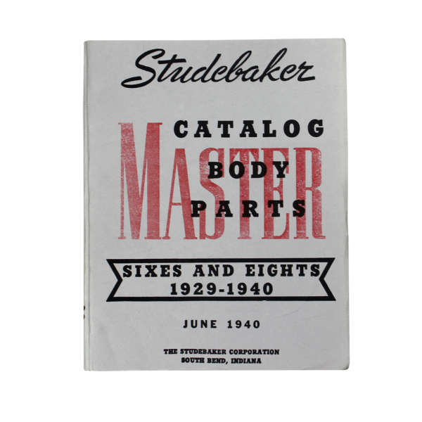 1929-40 Sixes & Eights Body Manual