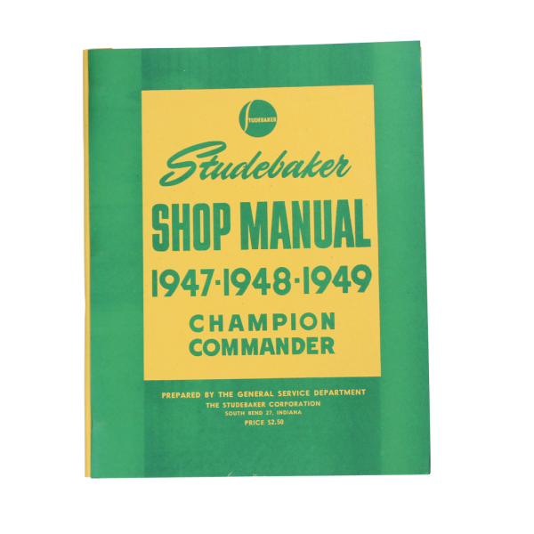 1947-49 Cars Shop Manual