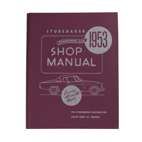 1953-54 Car Shop Manual
