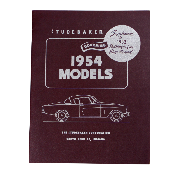1954 Shop Manual Supplement