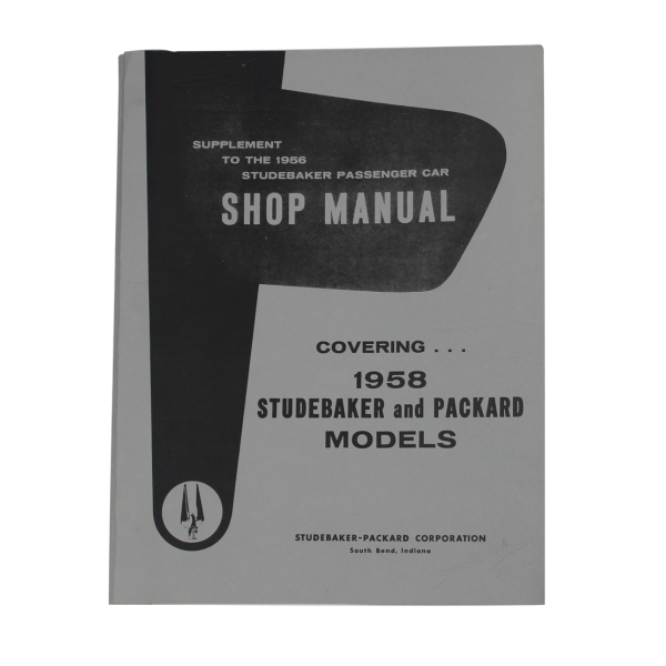 1958 Shop Supplement Manual