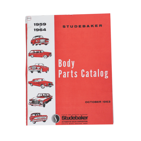 1959-64 Car Body Manual