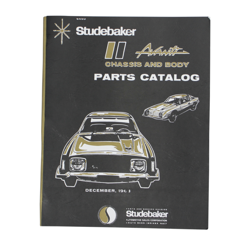 Avanti Chassis and Body Parts Manual