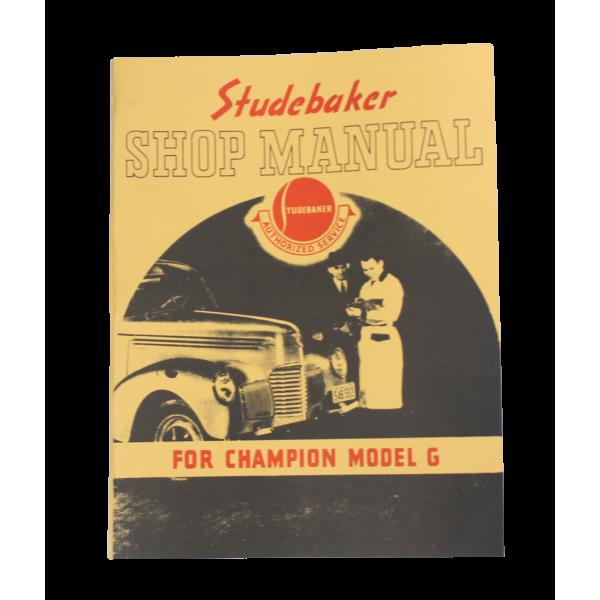 1939-40 Shop Manual - Champions