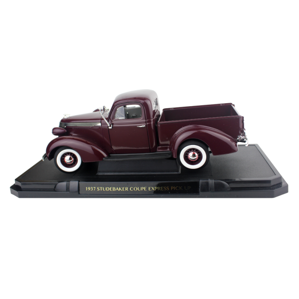 1937 Coupe Express Truck-Burgundy