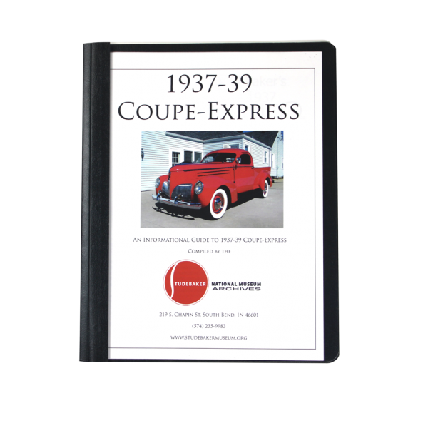 1937-39 Coupe Express Monograph