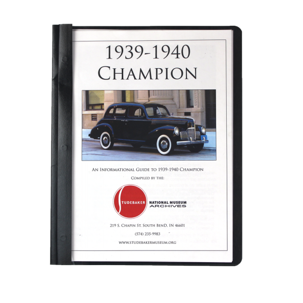 1939-40 Champion Monograph
