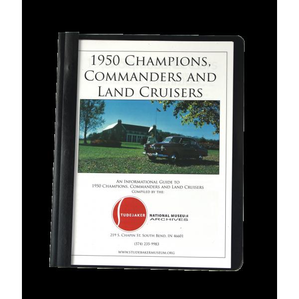 1950 Champs, Comm & Land Monograph