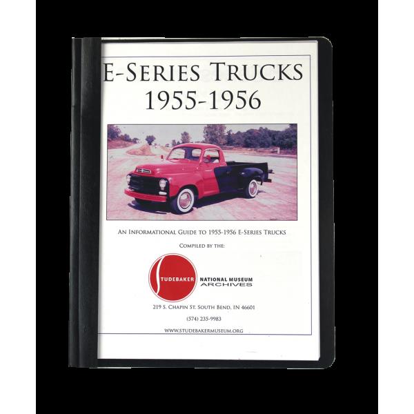 1955-56 E-Series Trucks Monograph