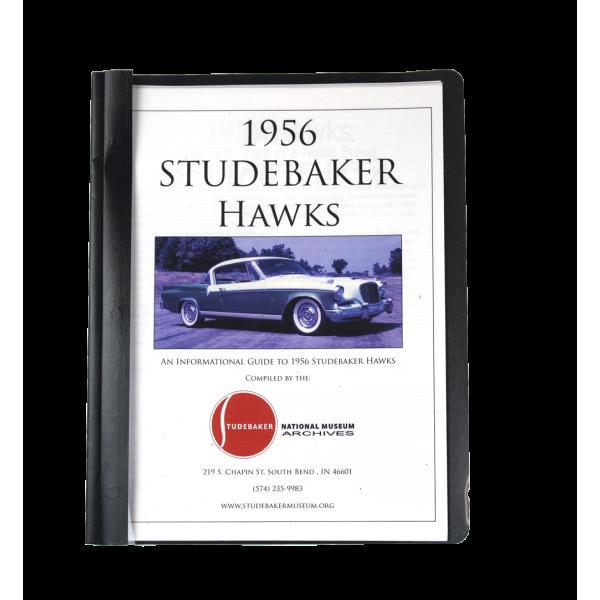 1956 Studebaker Hawks Monograph