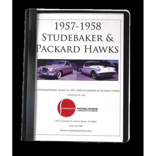 1957-58 Studebaker Packard Hawk Monograph
