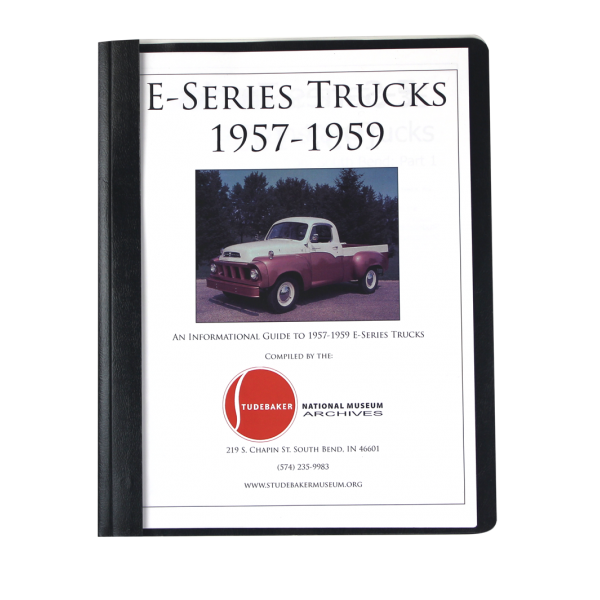 1957-59 E-Series Trucks Monograph