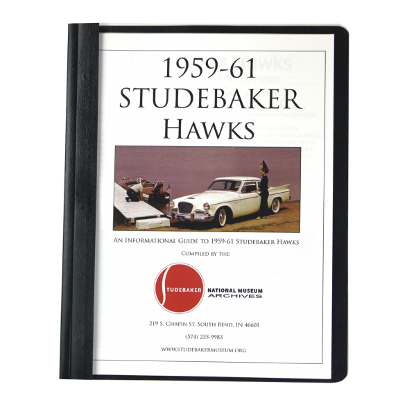 1959-61 Studebaker Hawk Monograph