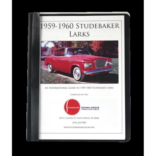 1959-60 Studebaker Larks Monograph