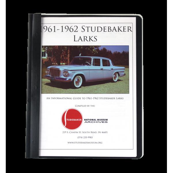 1961-62 Studebaker Larks Monograph