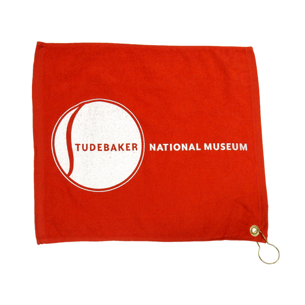 Golf Towel with Museum Logo