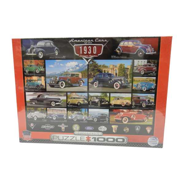 30's Cruisin' Series Puzzle