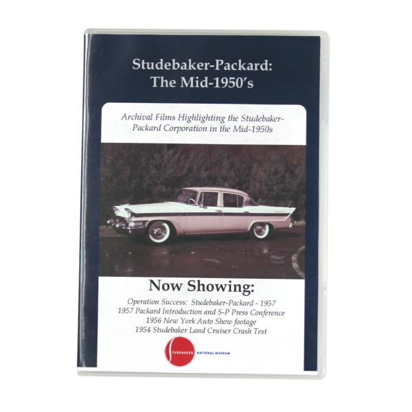 Stude-Packard Mid 50'S DVD