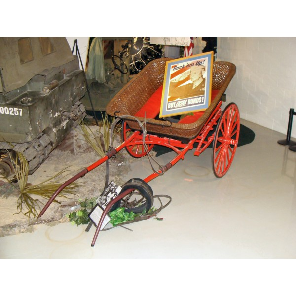Eisenhower's Pony Cart