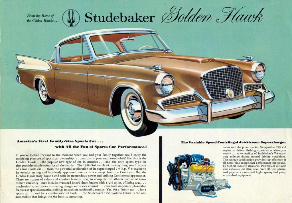 1958 Golden Hawk