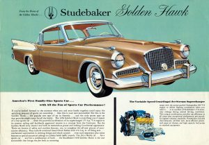 1958 Golden Hawk
