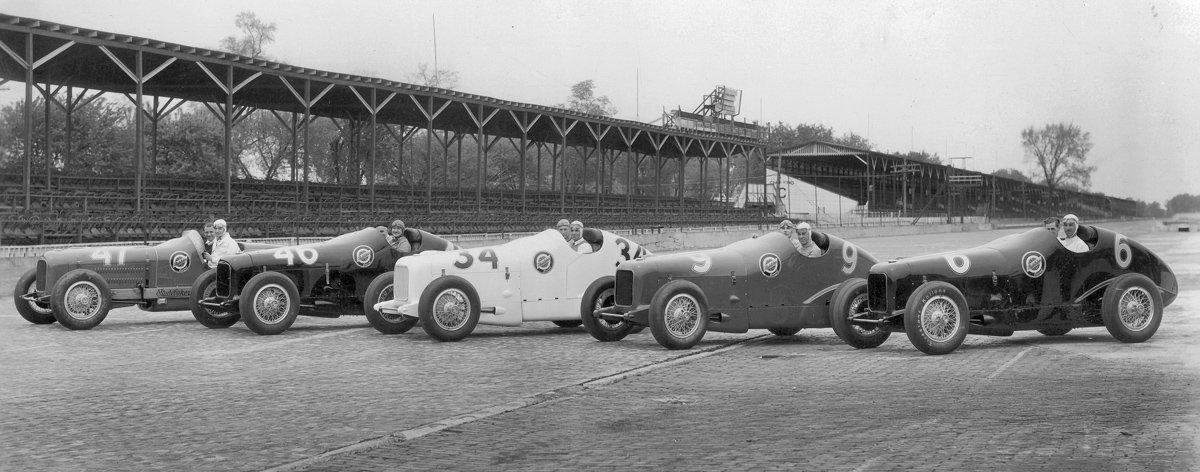 Studebaker Brickyard 1933